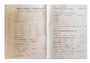 一年级下册数学试题 - 福建省安溪县春季期中考试卷 人教新课标( 含答案)